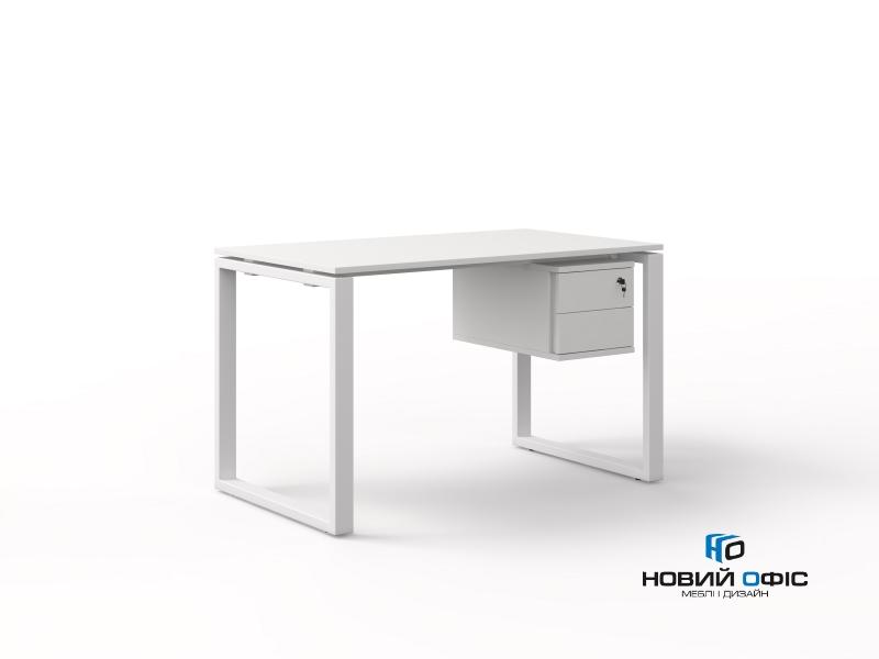 Стол офисный тумбовый 120х75х70 kqd-1270СP | Фото - 0