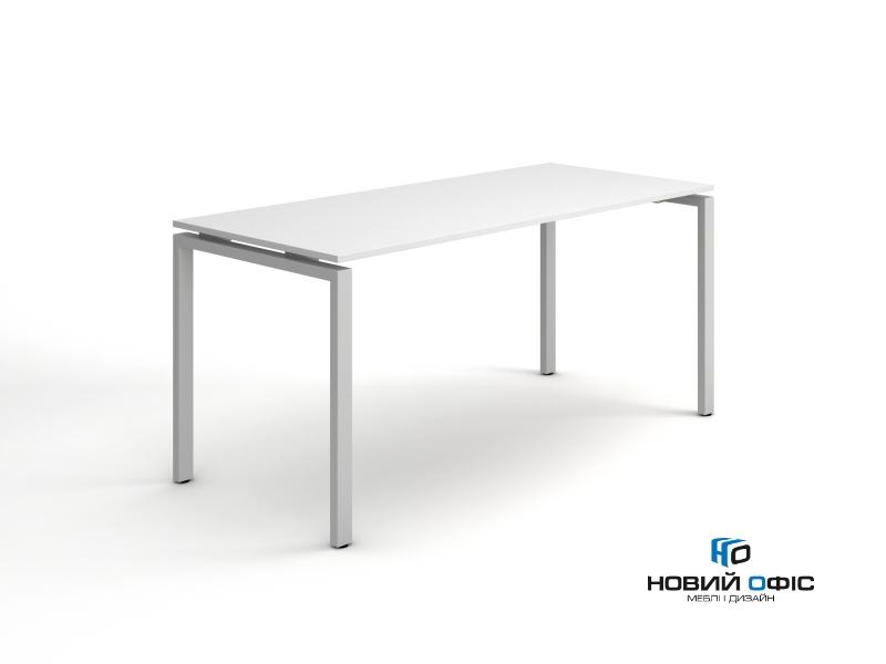 белый офисный стол для персонала 140х75х70 kd-1470  | Фото - 0