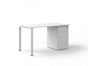 офисный стол с тумбой 140х75х70 kdz-1470CP