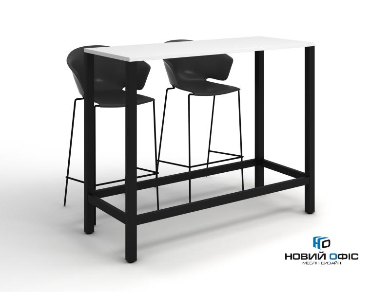 Стол для переговоров высокий 150х120х60 kdm-1560 | Фото - 0
