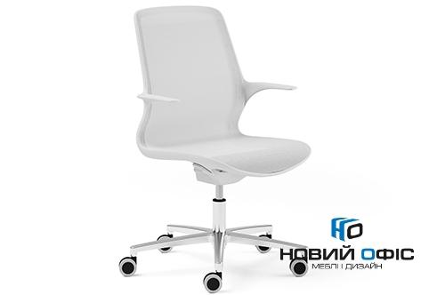 Кресло офисное ovidio white | Фото - 0