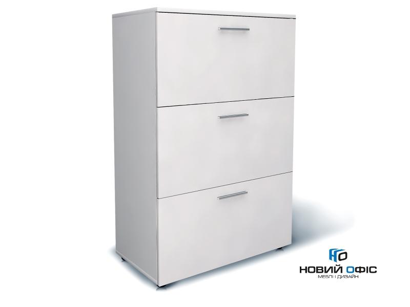 Шкаф для документов офисный на 3 файловых ящика 80х120х42 арт. Ur-233f | Фото - 0